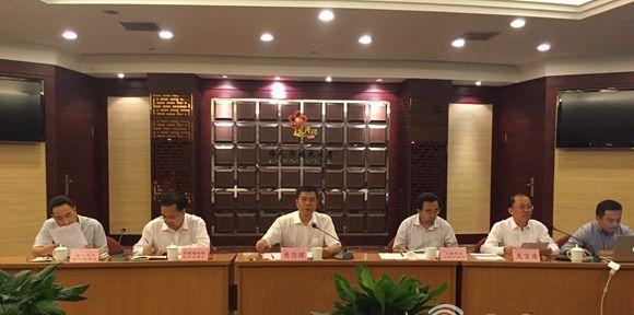 9月26日下午,山东省煤炭工业局在济南召开新闻发布会,通报全省煤炭清洁利用方面、塌陷地综合治理方面以及化解煤炭过剩产能方面的情况。