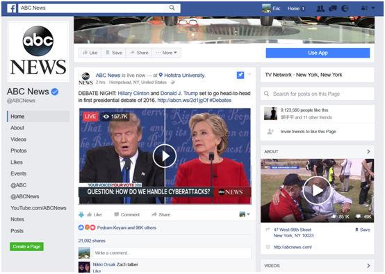 美社交媒体巨头:希普首辩有史以来跟帖数最高