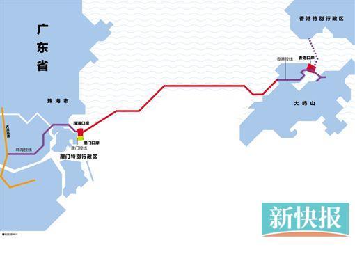 港珠澳大桥主体桥梁贯通 全球最长能抗八级地震