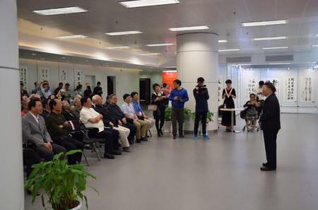 原解放军副总参谋长张黎上将在开幕式上讲话
