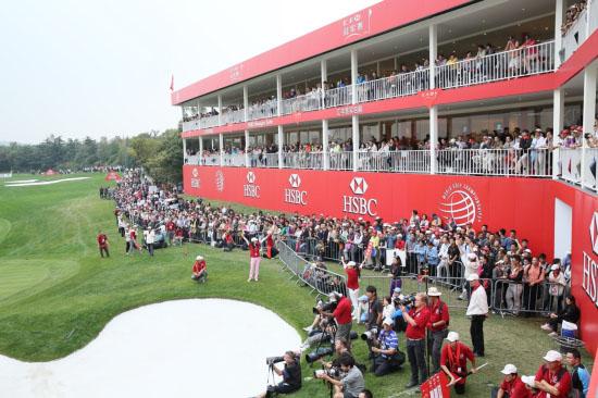 汇丰在现场专门设立的贵宾包厢给予球迷更好的观赛体验