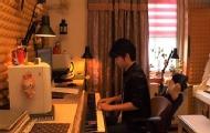 《夜空中的梦》钢琴曲敲赞