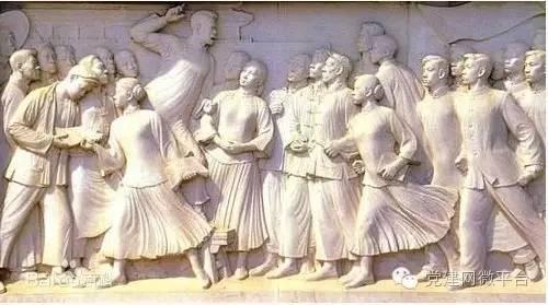"""中华民族的昨天,可以说是""""雄关漫道真如铁""""。近代以后,中华民族遭受的苦难之重、付出的牺牲之大,在世界历史上都是罕见的。但是,中国人民从不屈服,不断奋起抗争,终于掌握了自己的命运,开始了建设自己国家的伟大进程,充分展示了以爱国主义为核心的伟大民族精神。"""
