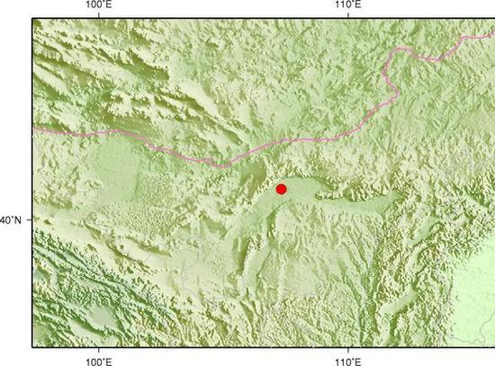 内蒙古巴彦淖尔市发生3.3级地震 震源深度6千米