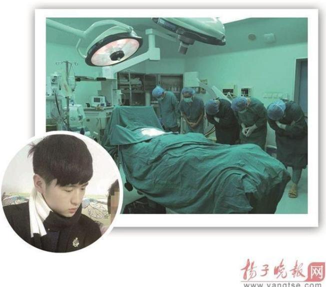 河南一19岁男孩苏州遇车祸脑死亡 家人含泪捐其器官