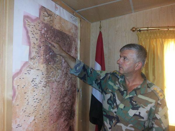 资料图:叙利亚军官。