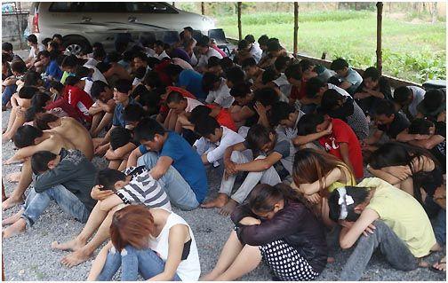 2014年反华打砸后,越南当局拘捕1036人,此中134报酬越新党成员