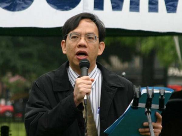 越新党指导之一邓武振2005年加入某反华安排活动,称等待某反中共宣扬材料的越文版