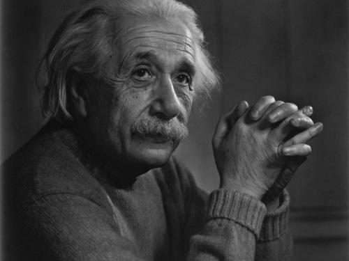 资料图:爱因斯坦