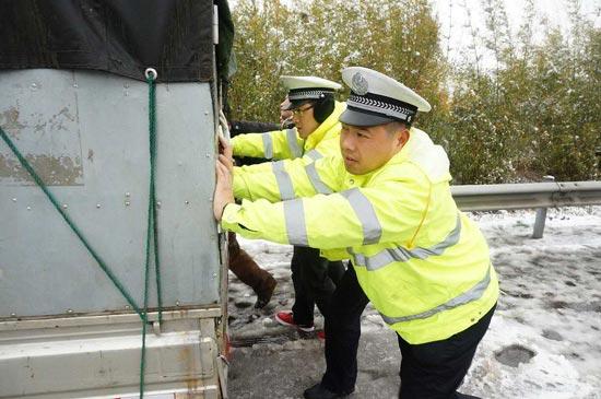 江西省公安厅交通管理局高速公路交通警察总队民警 吕凯