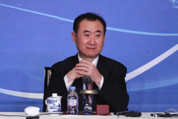 大连万达集团股份有限公司董事长王健林。视觉中国 资料