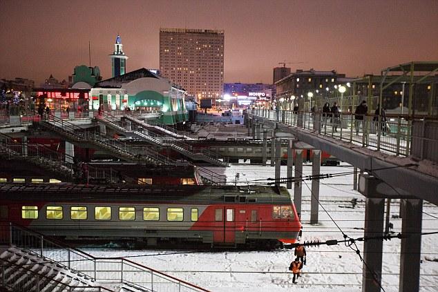 图为俄罗斯小镇。