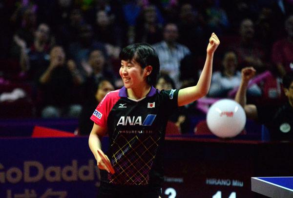 乒联:日本在东京奥运周期崛起         成国乒头号劲敌