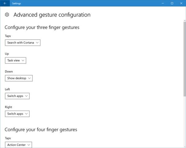 Windows 10 Build 14946发布:触摸板新手势匹敌Mac