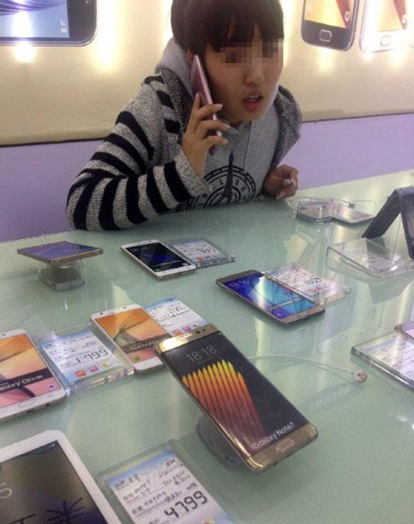 媒体走访发现,三星Note7手机在部分地区仍有销售