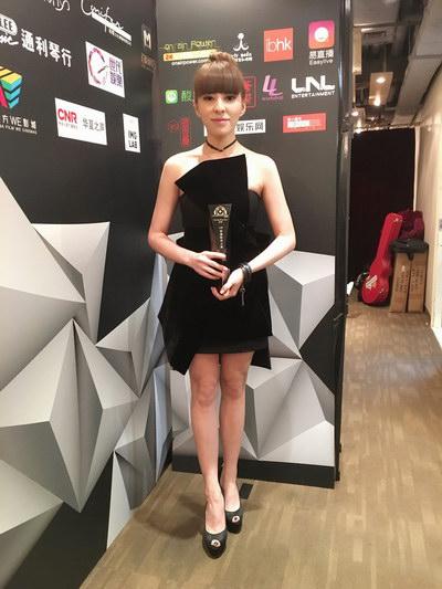 贝贝秦晓林香港获奖 嗨唱九龙湾