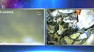 航天员舱内私房话首曝光 陈冬:看见太空很爽