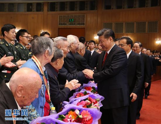 俞正声、刘云山、王岐山、张高丽等党和国家领导人出席观看.这是图片