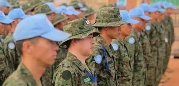 驻南苏丹的日本自卫队维和部队。 环球网 图