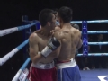 WBA中国职业拳击冠军赛(银川站)57kg级 林春雷取胜简海飞
