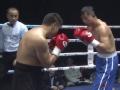 WBA中国职业拳击冠军赛(银川站)91kg级 成志平点胜李铁军