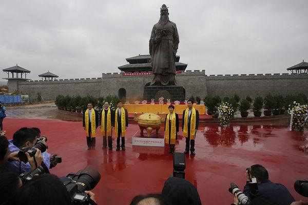 渭南合阳领导启动中华烹饪始祖伊尹祭拜仪式