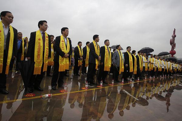渭南合阳中华烹饪始祖伊尹祭拜仪式