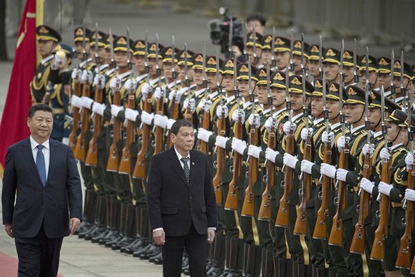 杜特尔特上周访问北京