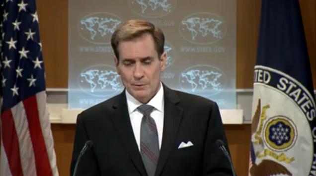 另外,美方24日宣布,美国常务副国务卿布林肯将于星期六(29日)访问北京,并与中国外交部副部长张业遂共同主持中美战略安全对话会间会。声明称,中美将在本次会议中讨论双方共同关心的战略安全问题,将就朝鲜核问题以及海上安全问题等交换意见。对此,柯比对记者表示,届时双方也会继续讨论南海问题。