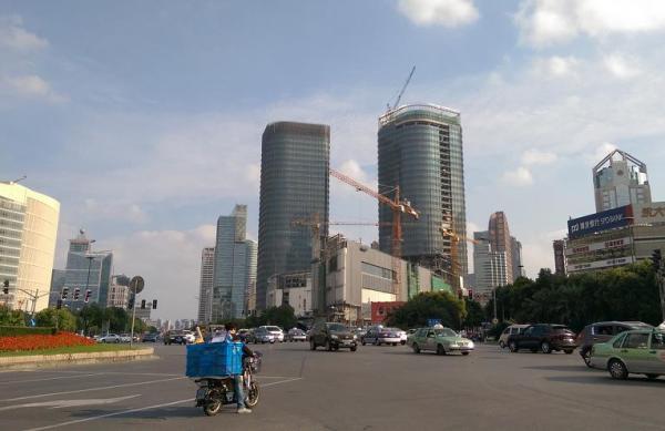 浦东世纪汇广场项目