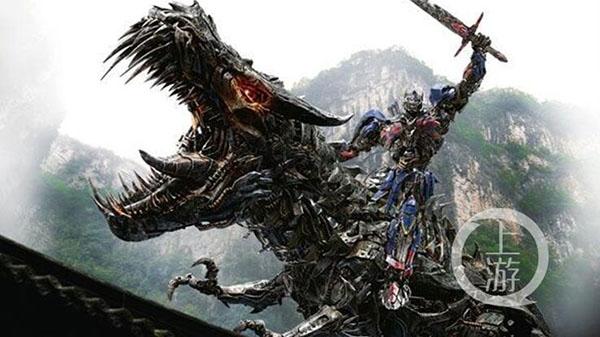 《变形金刚4》中出现的武隆画面。