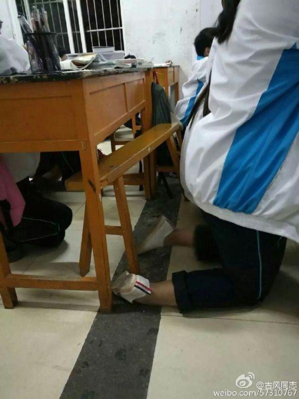 安徽宿州埇桥区称学生集体罚跪不属实,涉事教师将被处分