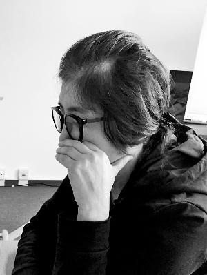 崔顺实在德国一家酒店接受韩国《世界日报》采访。