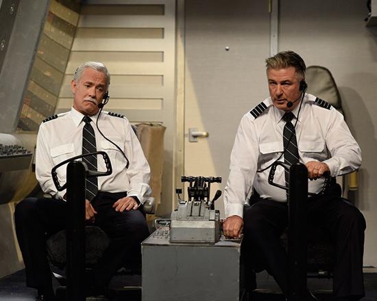 汤姆·汉克斯飞机中爆笑捣乱