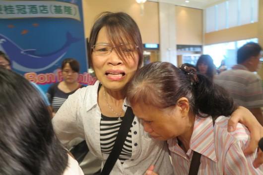 沈妻杨秀慧27日发出沉痛声明。(图片取自台湾《联合报》)