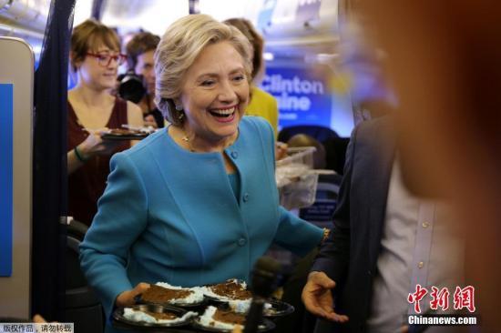 资料图:美国民主党总统候选人希拉里・克林顿。