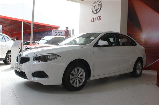 2017款中华H530闪耀登陆太原TOP国际车展