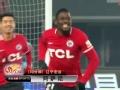 中超進球視頻-阿薩尼躍起頭槌破門 宏運1-0蘇寧