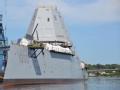 """美军""""朱姆沃尔特""""号驱逐舰入役 即将部署亚太"""