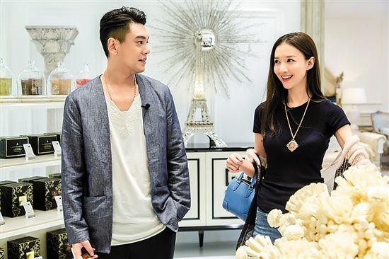 朱孝天、韩雯雯挑选家具(《百变吧新居》)