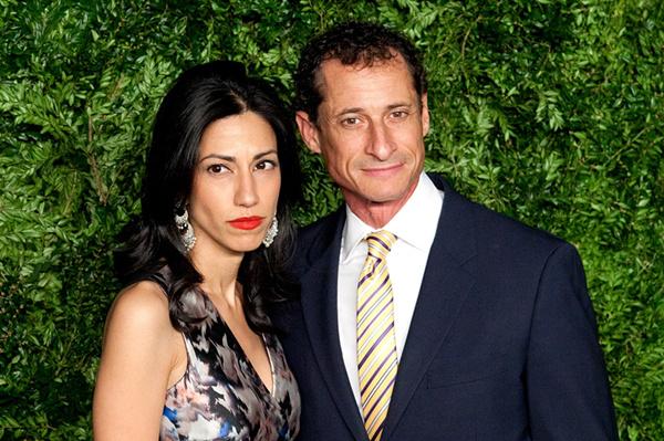 胡玛・阿贝丁和丈夫安东尼・韦纳