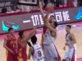 CBA视频-钟诚泰山压顶送郑准大火锅 广州VS吉林