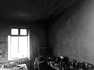 白叟失事时寓居的房间