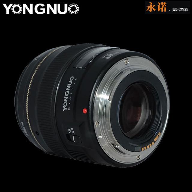 国产人像镜头 永诺YN 100mm F2即将发布