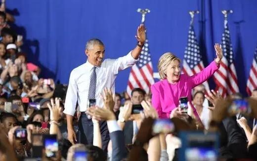 同时,奥巴马在访谈中再一次表示了对希拉里的信任和支持。
