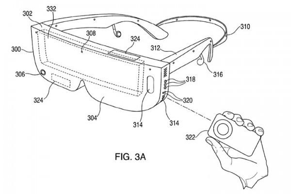 外观很三星!苹果VR头戴显示设备专利曝光