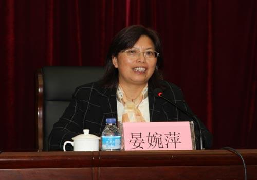 图为晏婉萍。