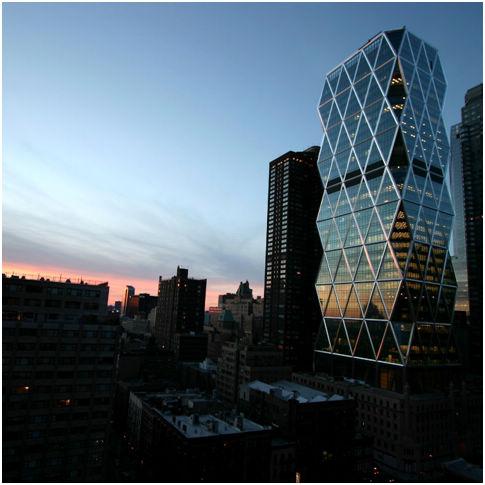 赫斯特集团位于纽约的总部大楼。