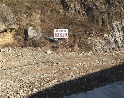 网友曝出的涞水县禁牧区有毒饵投放。
