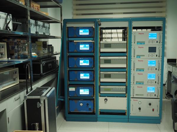 山东省环保厅内的质控实验室。